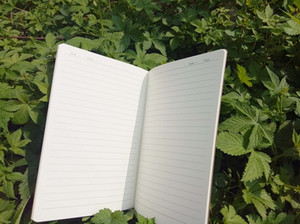 Kraft Brown Soft Cover Notebook Travel دفاتر يومية A5 حجم 210 مم × 140 مم 60 صفحة 30 صفائح تسليم سريع