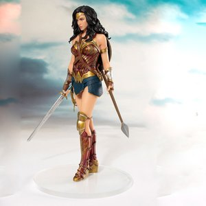 DC Comics Wonder Woman figure giocattoli bambola 19cm DC Justice League ARTFX Princess Diana Statue Collection Modello Action Figure Giocattoli