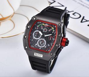 Hot New Luxury Orologio Gold Sport Watch Richard Shell cuarzo reloj de pulsera de acero inoxidable de los hombres relojes de marca de regalo