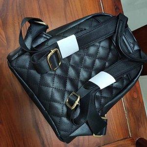 Regalo VIP! 2020 bolsa de equipaje de viaje de lujo de diseño clásico de Nueva caviar PU mochila patrón de bordado CC Moda al aire libre mochila bolsas de almacenamiento