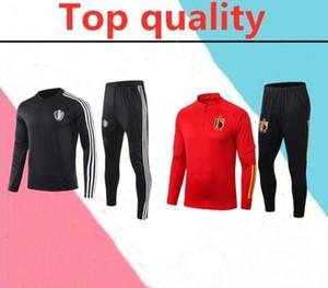 2019 2020 Belgio vestito Survêtement adulto allenamento di calcio 19 20 Belgio tuta De Bruyne giacca calcio tuta
