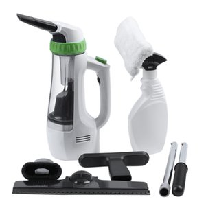 Cordless Window Glass Vacuum Cleaner,Function Electric Window Cleaner Brush Cleaning Tool Dust Cleaner EU Plug