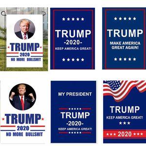 Bandiere da giardino Trump 30 * 45 cm Bandiere da giardino 30 * 45 cm Presidente General Election 2020 Bandiere Trump Poliestere Bandiere da banner Bandiere da giardino HH9-2154