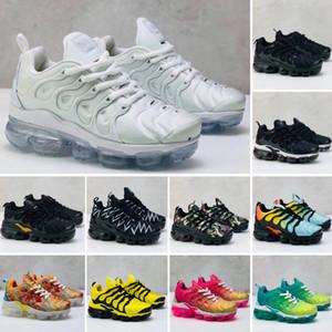 Nike Air TN Plus Nouveau enfants plus tn garçon fille enfants parent-enfant chaussures de sport Pour bébé mode sneaker noir blanc multi courir jogging chaussure formateur 28-35