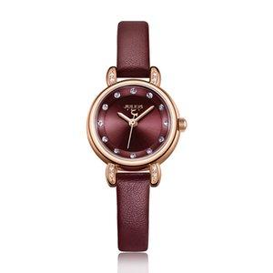 Julius azul mujer del reloj de la alta calidad de las señoras a estrenar Delgado Relojes reloj promocional 2020 de invierno nueva llegada del reloj JA-1086