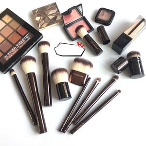 Sablier Vanish Seamless Metal Pinceau De Maquillage Poudre De Luxe # 1 Pinceau # 2 Fondation Blush # 4 # 5 Concealer # 11 Fard À Paupières Eyliner
