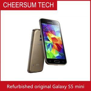 """2016 abierto original de los teléfonos móviles Samsung Galaxy S5 Mini G800F / G800A 16.0MP 16GB ROM de Android OS 5.1"""" Smartphone Reformado"""