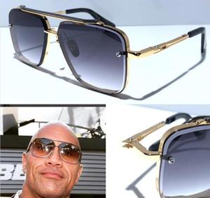 Высокое качество шесть классических для мужчин, женщин ВС очков популярных мужских солнцезащитных очков, мода лета людей типа солнцезащитных очков UV400 линзы поставляется с Case