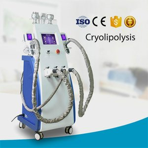 High Quality 5 In 1 Cooling Cryolipolysis Machine With 360° Full Vacuum Professional Body Slimming Equipment For Double Chin