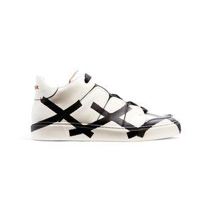 Nueva Caja Original Empaquetado Italia Top Brand EZ Canvas Tazio Impreso Diseñador Zapatilla de deporte Moda Casual Zapatos de los hombres