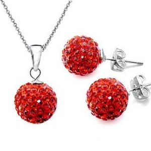 2019 sets bijoux boucles d'oreilles en ligne Inde Mujer pour femmes accessoires collier set cristal Stud bijoux bijoux femme