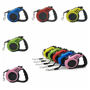 Leash 3M cão retrátil automático flexível Puppy Dog Cat Traction Rope Leash Dog Belt para Small Medium Cães Pet Products LXL948-1