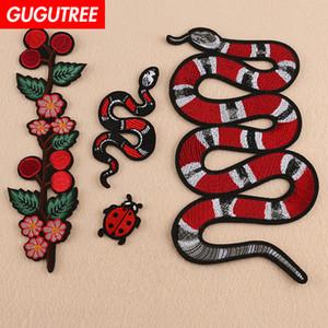 patches de serpent gros patches de GUGUTREE badges patches pour les vêtements BP Appliqué-624