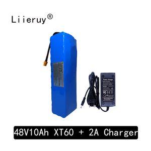 Liireuy batterie e-vélo 48v 10ah batterie lithium-ion Bafang 1000w kit de conversion de la bicyclette et le chargeur 18650 batterie XT60