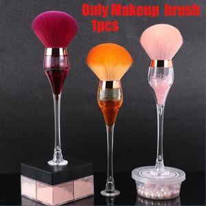 New Wine Shape Brush Loose Fiber Powder Single Glass Fashion Brush Makeup Soft Tool Makeup Tool Beauty Ajouf