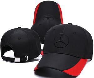 2019 Snapback Racing Cap Бейсболка Черный F1 Стиль Шапки для Мужчин Автомобиль Мотоцикл Гонки MOTO GP Casquette Спорт на открытом воздухе Sun Hat