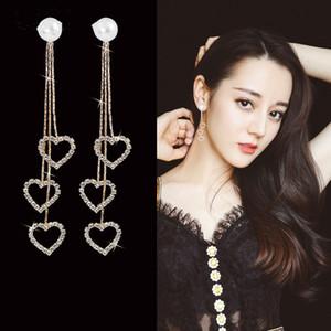 Heart Women Dangle Earrings For Women Loving Tassel Earrings Fashion Earrings Pendant Jewelry