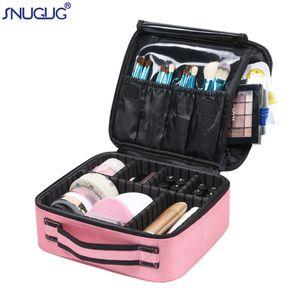 Новый макияж Case Professional Beauty кисти Женщины Косметика Чемодан водонепроницаемый сделать мешки вверх Организатор путешествия хранения для маникюра CY200518