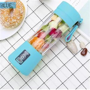 Portable Blender MINI USB ricaricabile Frullatore Blender 380ml 2 Lame Juicer della frutta frullatore Sport Juicing Cup 40pcs T1I2014