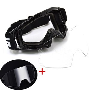 BJMOTO Motocross Occhiali Occhiali Dirt Bike ATV Off Road Moto Occhiali Moto Casco Googles Anti vento Occhiali MX Occhiali Y200616