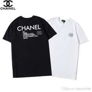 Moda Designered Erkek Gömlek Lüks tişört Erkek Kadın Üst Tees Yaz Kısa Kollu Hip Hop Mens Streetwear 2020 # 1312 markalı