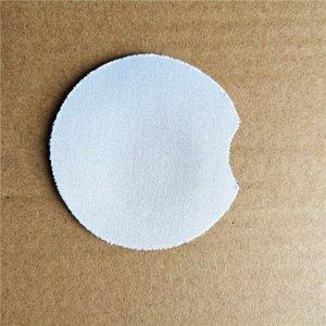 nuovo arrivo sublimazione neoprene blank coasters stampa a trasferimento termico in neoprene tazza di gomma tappetini consumabili whoelsaels