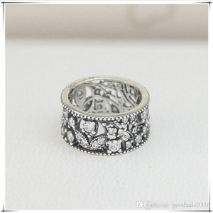 New high quality brand S925 silver ring round silver Petal type ring for fashion lovers gift ring come with dust bag