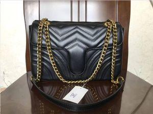 Женщины плеча мешок золота и серебра цепи мешок Crossbody Чистый цвет сумки Кроссбоди Верхнее качество 8Colors Посланника сумка кошелек Walle 26с