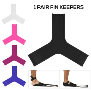 2pcs Scuba Diving Fin Keeper Gripper piede Flippers nuoto pinnato Keepers Pinze cinghie Snorkeling cinghia del silicone elastico morbido