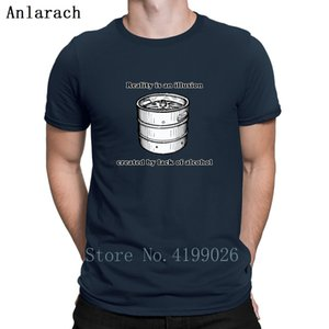 Lack Of Alcohol Tshirt Pop Top Tee Personality Spring Natural Tshirt For Men Newest Unisex Plus Size 3xl Anlarach Fun