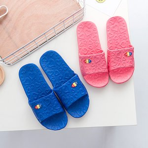 Love Home Slippers Indoor Bathroom Slippers Anti-skid Home Shoes Summer Couple Slippers