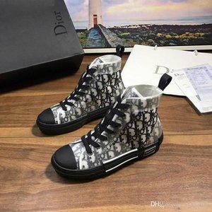 2020 D6 yeni erkek kadınların gündelik moda ayakkabılar, yüksek top yüksek kaliteli seyahat açık hava spor ayakkabıları, orijinal kutusunda hızlı teslimat