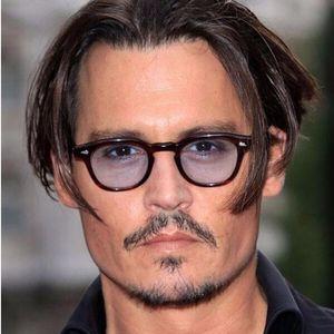 REALSTAR Super Star Mode Johnny Depp Stil Sonnenbrille Männer Frauen Designer Vintage Runde Sonnenbrille Brillen Shades Oculos S553