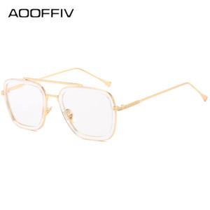 2020 marque haute qualité lunettes de soleil de luxe européennes et American Iron Man lunettes de soleil métal lunettes punk carré concepteur de conduire Sungla sport