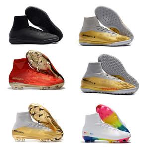 2020 الساخن أحذية الأولاد لكرة القدم زئبقي ال superfly V SX نيمار Ronalro CR7 FG كرة القدم المرابط أحذية كرة القدم في الأماكن المغلقة رجل بوتاس دي فوتبول العشب