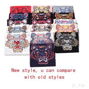 Новый стиль Ins Hot 20SS Унисекс Tshirt вышивка Mens конструктора тенниски Женщины Мужчины Casual5s хороший мужской Tshirt быстрая перевозка груза азиатскую проверка размера