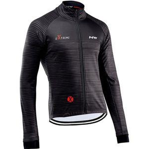 NDLSS Men Cycling Jersey Motocross Long Sleeves Tops Bicycle Retro MTB Downhill Shirt Road Bike Team Autumn Sports Men Clothing