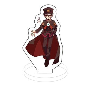 Anime Cosplay acrílico Escritorio WC-Bound Hanako-kun figura llavero de dibujos animados lindo del soporte del modelo de la figura