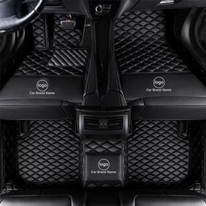 Zhihui Özel Araba Paspaslar Volvo C70 S60 V60 XC40 XC60 2011 2018 Mat XC90 2017 S60 S80 V40 V50 V60 V70 V90 XC70 için