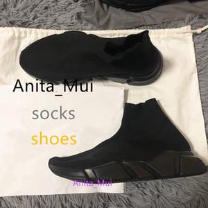 ACE erkekler kadınlar tasarımcı çorap ayakkabı hız eğitmen siyah beyaz parıltı pembe mavi moda lüks erkek eğitmenler gündelik tuvalin spor ayakkabılar platformu