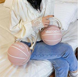Pu Basketball-rivetti Borsa a tracolla donne borse da viaggio in pelle trapuntata Borsa di lusso femminile Catene borse delle donne Rhomger Casual Tote Bag # 37186