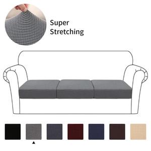 1/2/3 coussin d'assise Sofa Meubles Spandex Jacquard Tissu Pièces de rechange polyester pour élastique Canapé Coussin