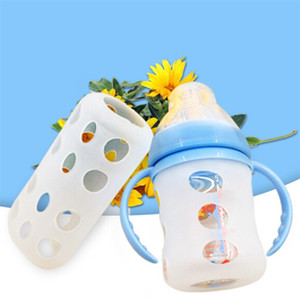 Baby Bottles Cover Keep Warm Protective Sleeve Cover Baby Bottles Bag Milk Thermal Insulation Antiscald Cover
