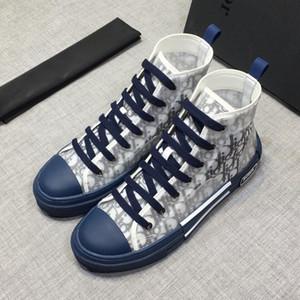 iduzi Italie DIOR automne et en hiver nouvelles chaussures de sport de marque de mode de haute qualité haute chaussures chaussures pour hommes occasionnels de sport