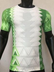 camisas del jugador de Nigeria 2020 2021 MUSA MIKEL 20 de fútbol 21 de inicio versión de reproductor de Fútbol