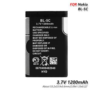 عالية الجودة BL5C 1200 مللي أمبير بطارية ليثيوم BL-5C BL 5C استبدال بطارية الهاتف ل 6680 6681 6682 7600 7610 N70 N71 N72 N91 3105 3120
