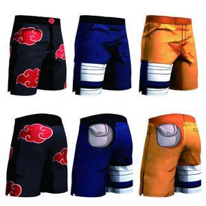 New Anime Dragon Ball Z Naruto Men's Summer Casual Shorts Super Saiyan Son Goku Vegeta Cell Piccolo 3D Print Beach Shorts Y200519