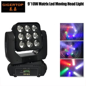 Fedex Free Shipping 9x10w 4in1 Rgbw Led Stage Light High Power Led Par Can With Dmx512 Master Slave Flat Dj Equipment Controller