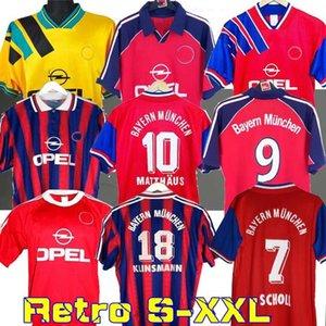 94 95 96 ELBER Matthaus retro jersey 00 01 02 final zickle EFFENBERG ELBER Pizarro SCHOLL Matthaus Klinsmann football shirts 1995 2001