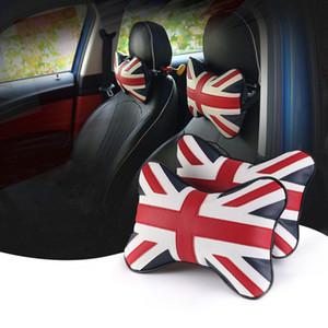Asiento conjunta de la PU de algodón PP Almohada para cuello apoyo para la cabeza de fondo automático para BMW Mini Cooper S JCW Uno Accesorios Countryman